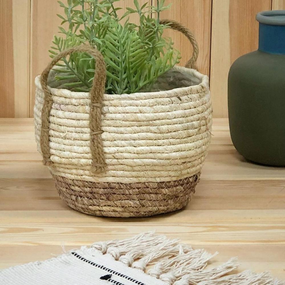 قفة حبال قش شنط وسلل وصناديق ديكورات المنزل قفف زرع و نباتات
