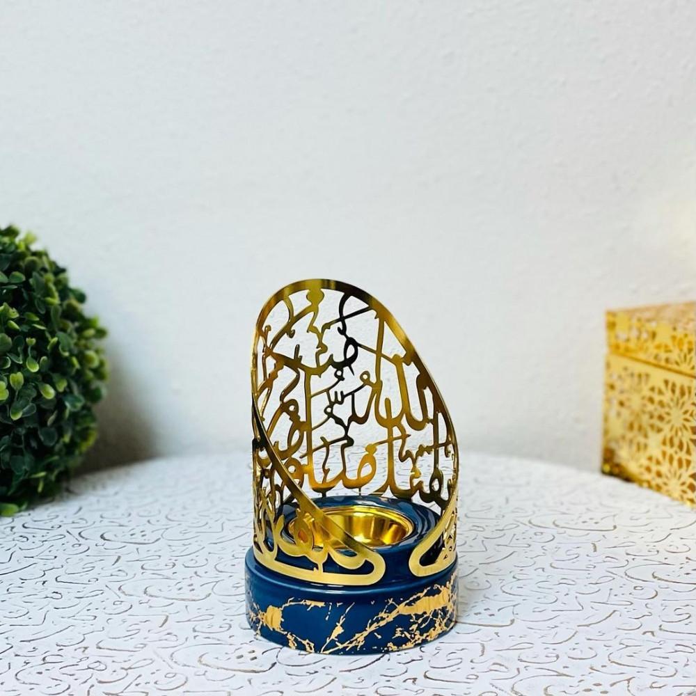 مبخرة ملكية حديد وسيراميك رخامية مباخر ومداخن بخور ديكورات رمضان