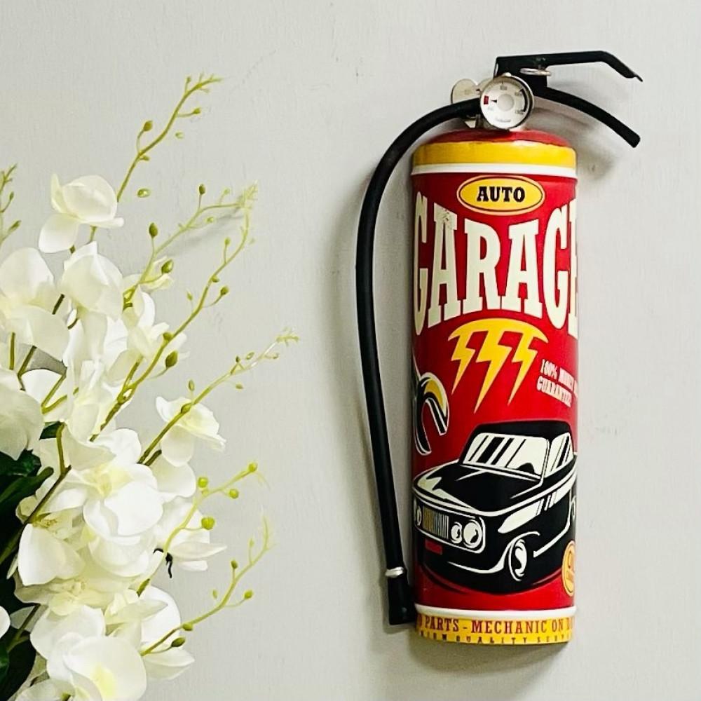 لوحة جدارية حديد وجه طفاية حريق انتيك لوحات جدارية ديكورات المنزل حائط