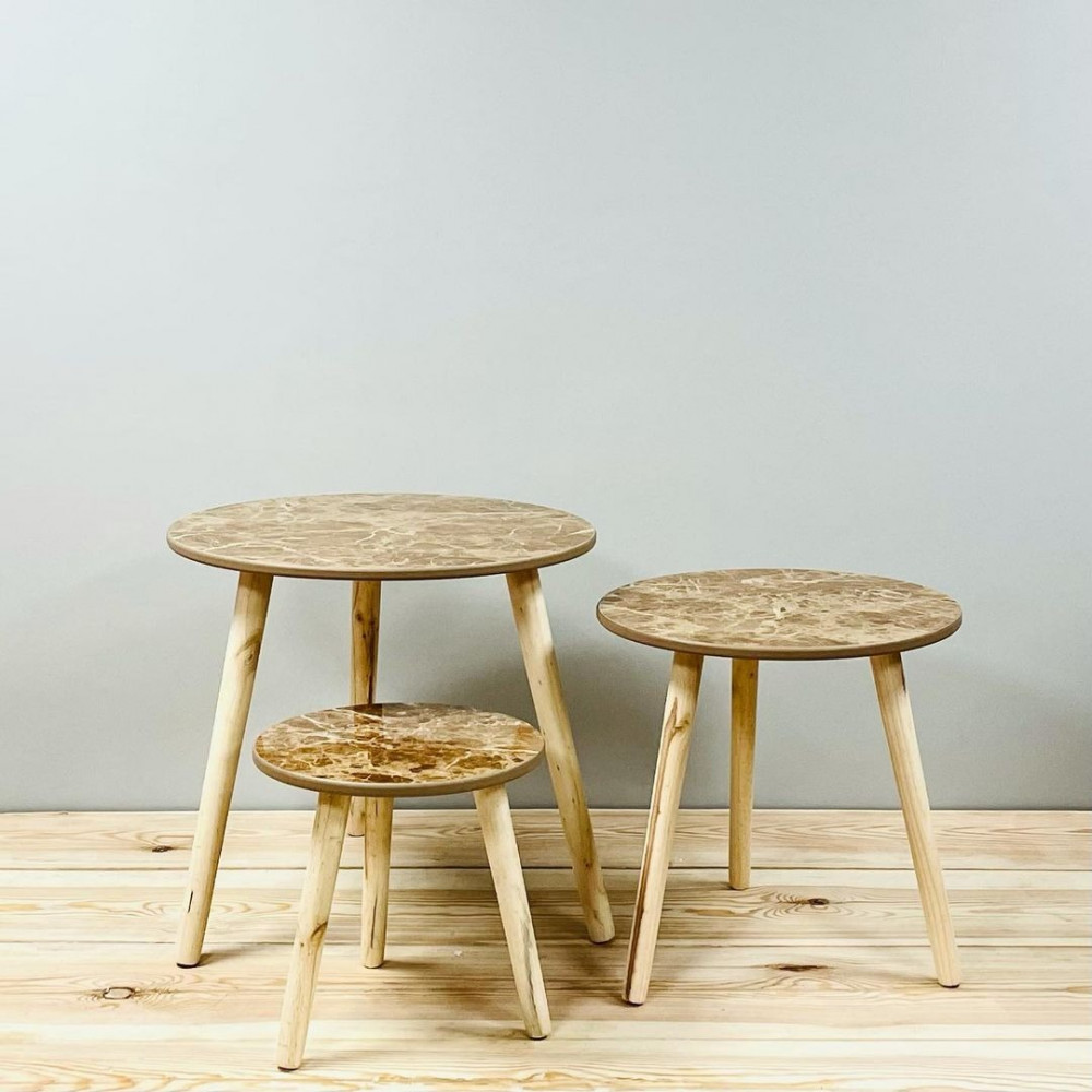 طاولات خدمة وتقديم خشب كراسي وطاولات ديكورات المنزل طاولة خشب بيج