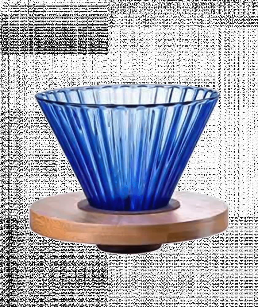 بياك-قمع-ترشيح-زجاج-ازرق-ادوات-الترشيح