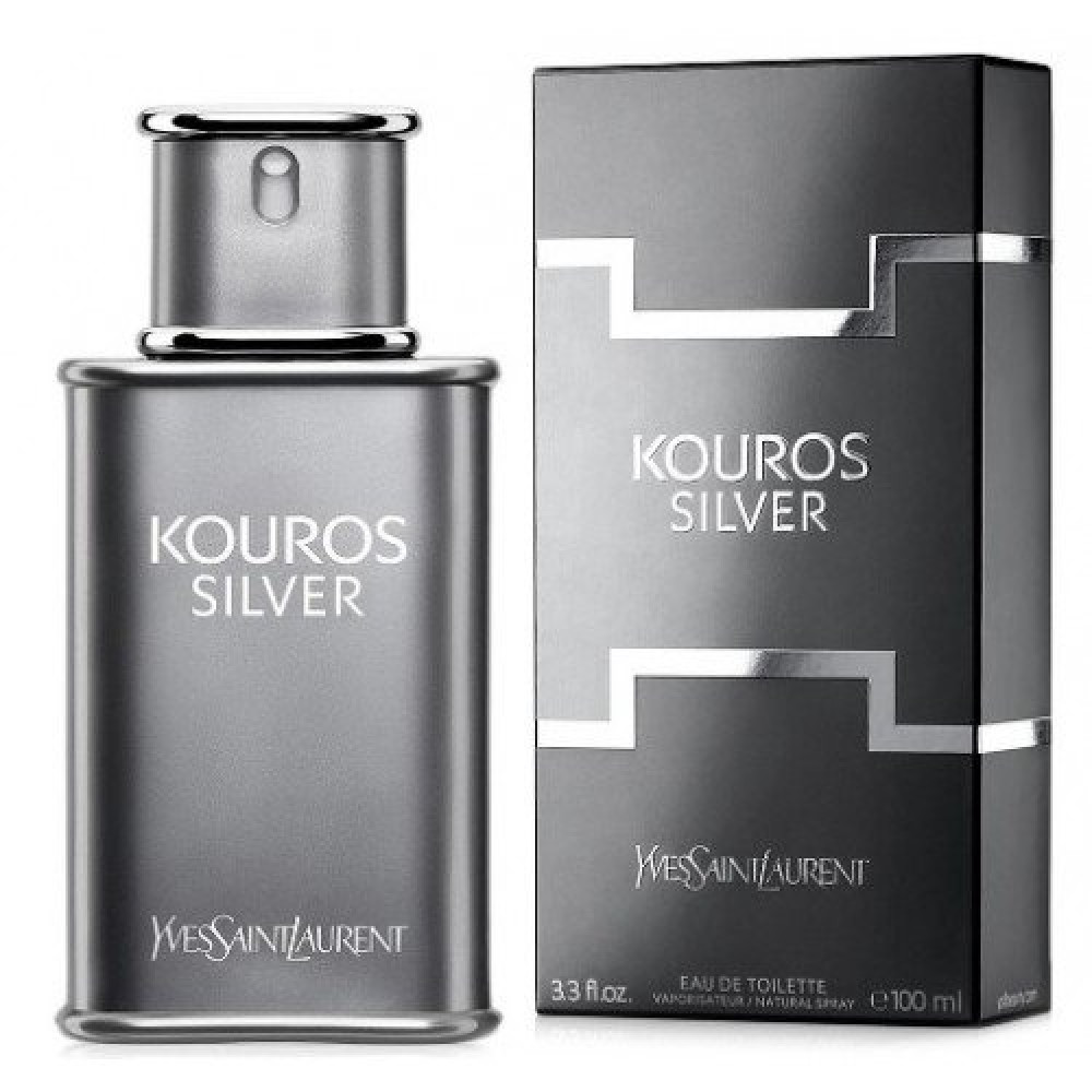 Yves Saint Laurent Kouros Silver Eau de Toilette 50ml خبير العطور