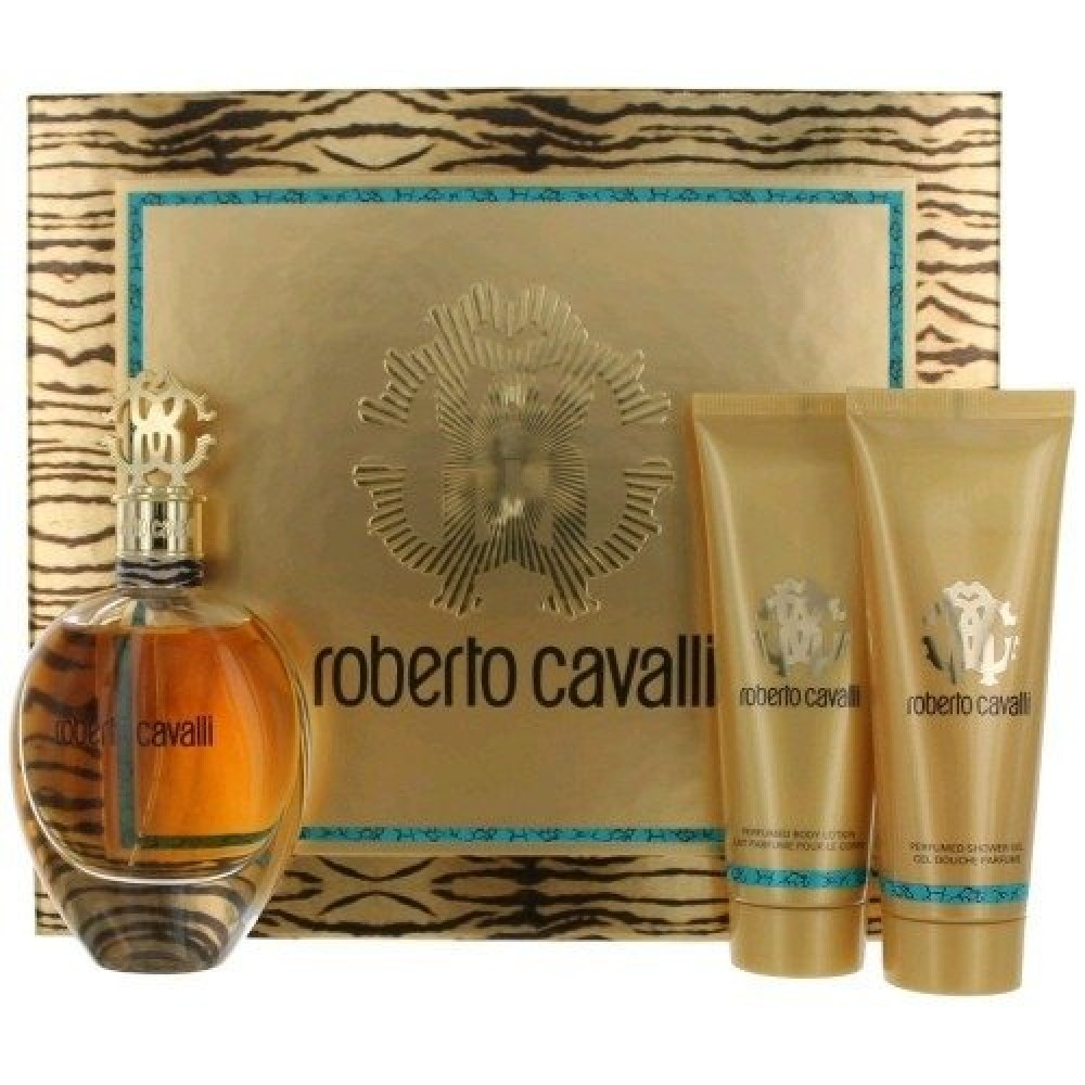 Roberto Cavalli Eau de Parfum for Woman 3 Gift Set متجر خبير العطور