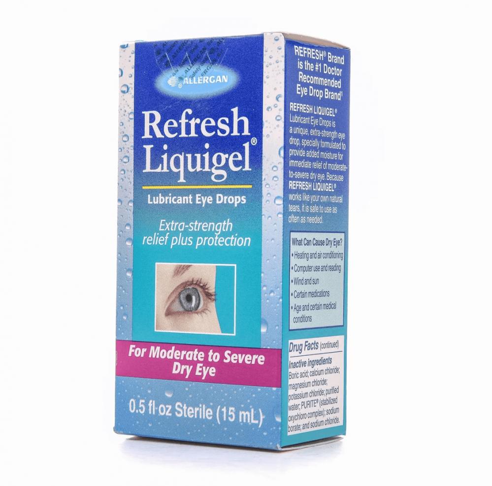 ريفريش ليكويجل نقط للعين 15 مل هو منتج العناية بالعين كل وحدة تحتوي عل غيداء الطبيه متجر إلكتروني