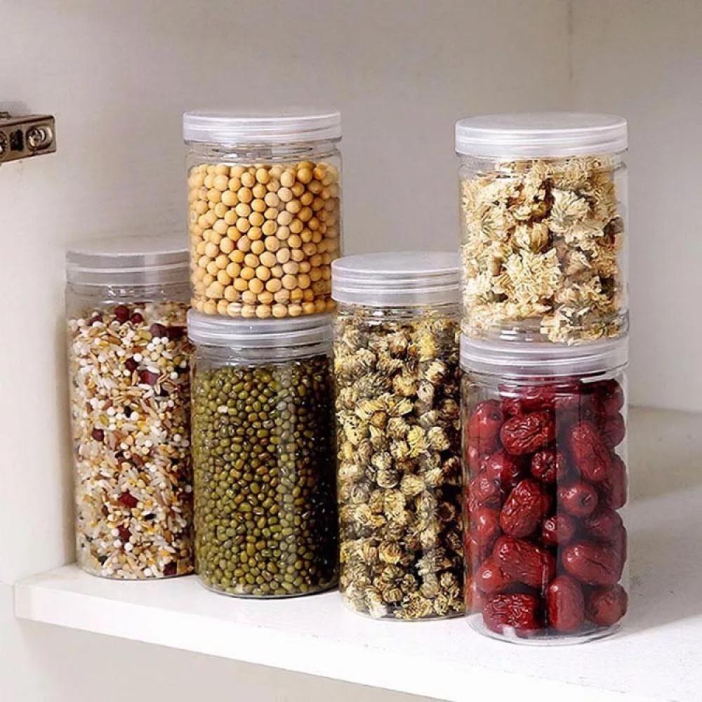 برطمانات بلاستيك اوعية للبهارات والحلويات والجرانولا
