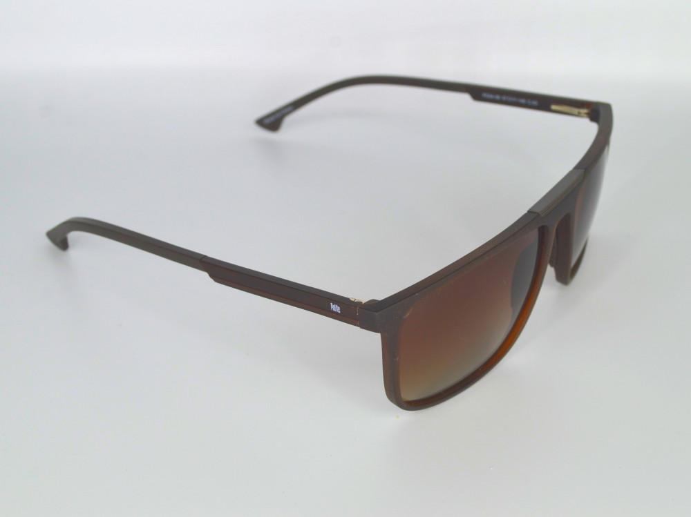 نظاره شمسية رجالية من ماركة POLITE لون العدسة بني مدرج