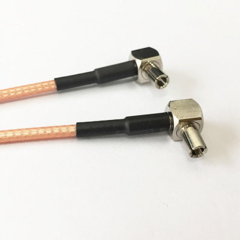 PR-SMA Male to Y Type 2x TS9 Male Splitter