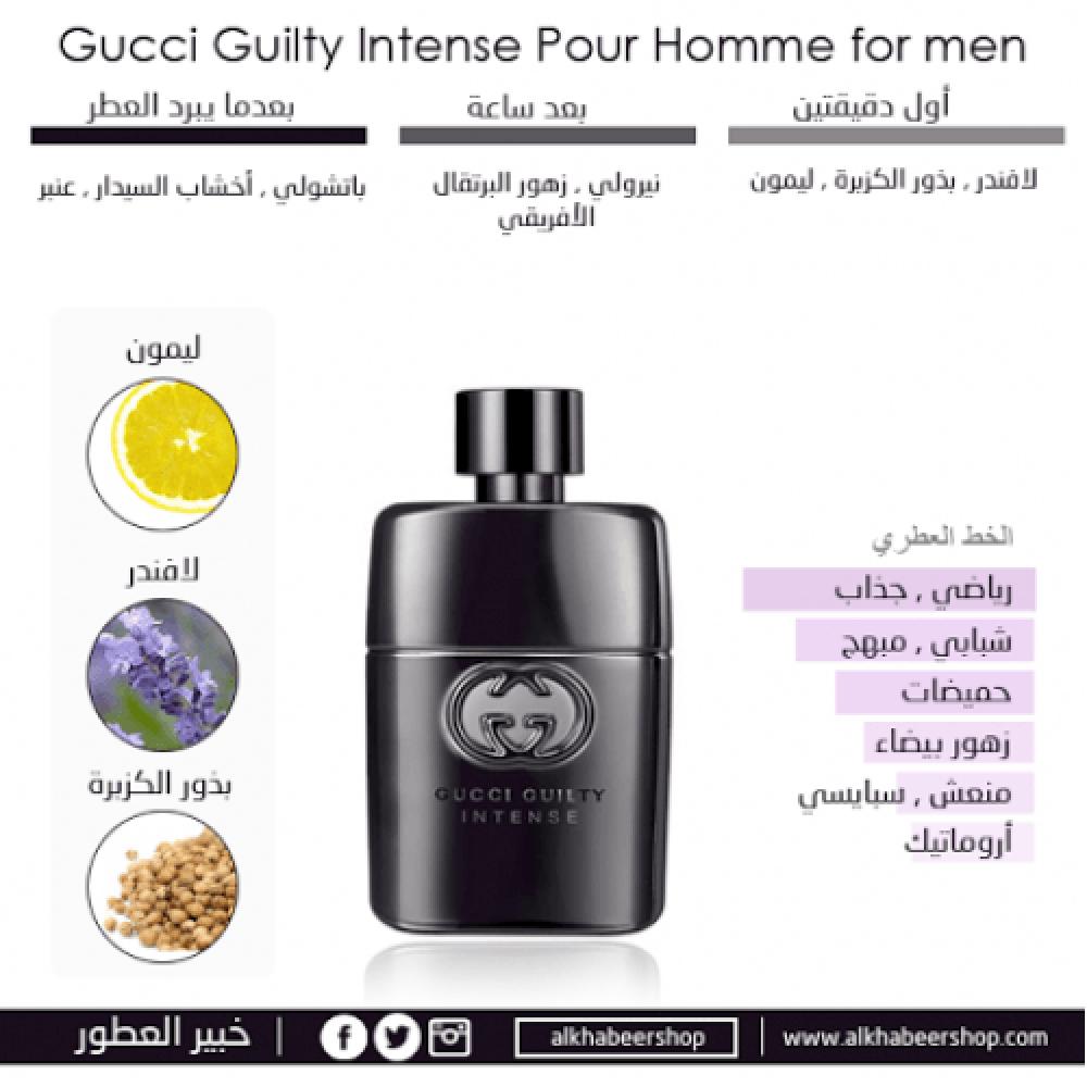 Gucci Guilty Pour Homme Intense Eau de Toilette 90ml خبير العطور