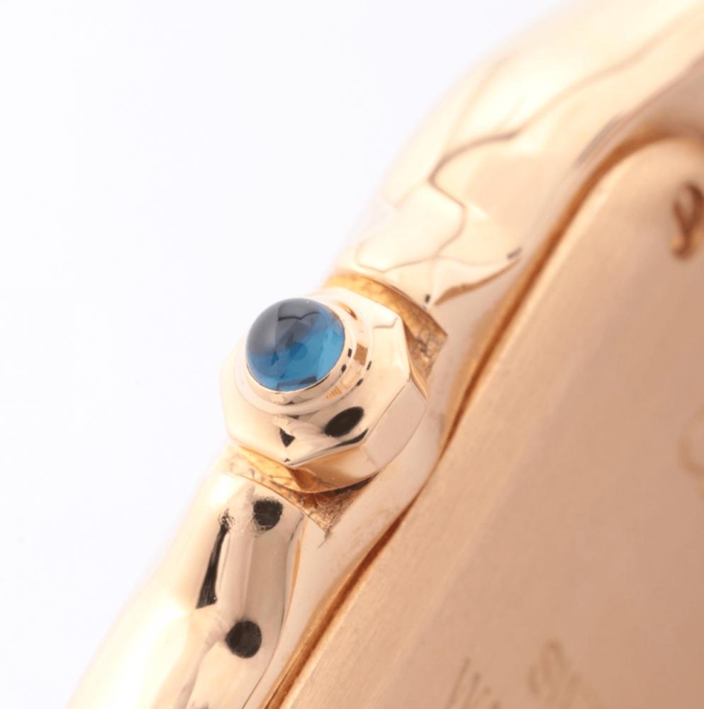 ساعة كارتييه بانثر الأصلية الثمينة مستخدمة
