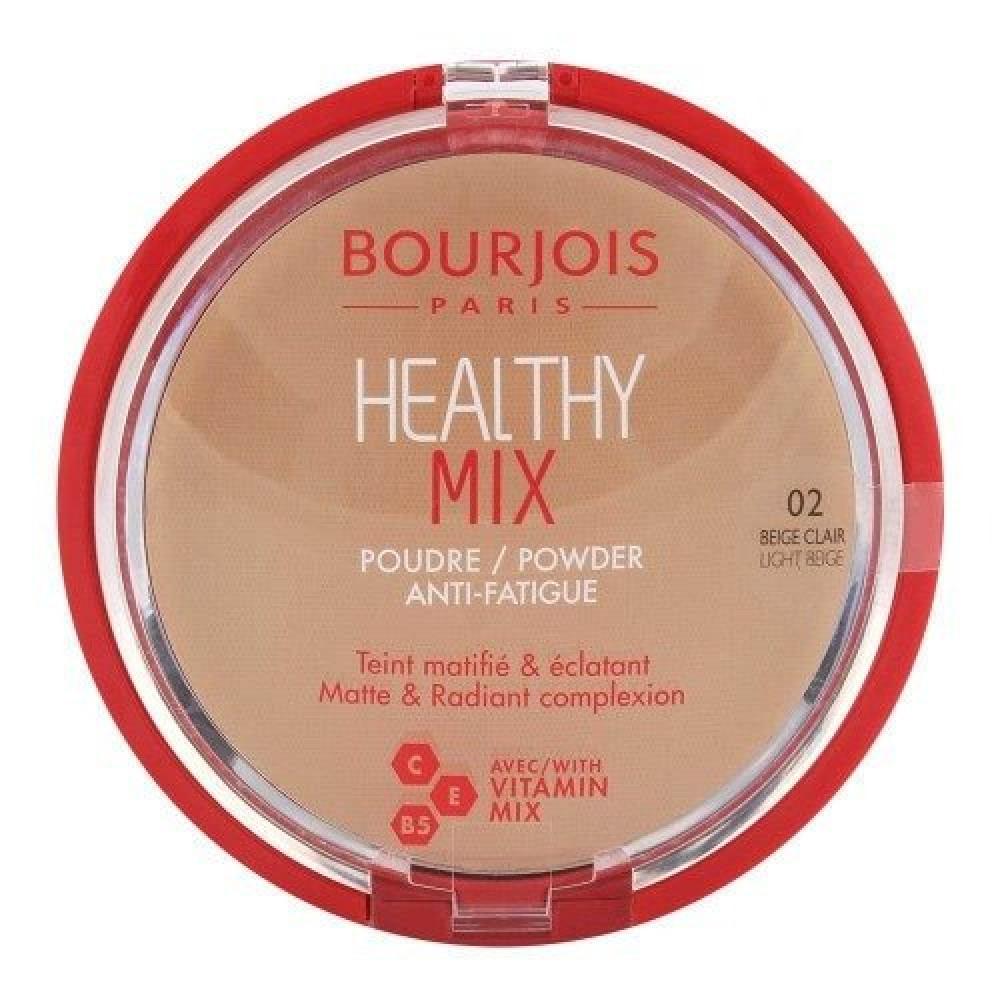 Bourjois Healthy Mix Powder No 02 Light Beige11g متجر خبير العطور