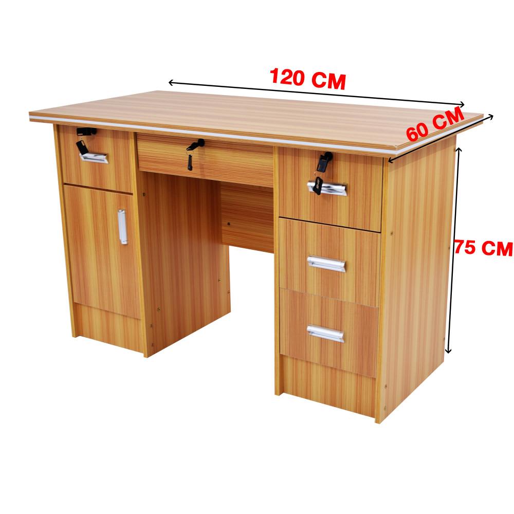 مكتب شخصي 120 سم yellow-204