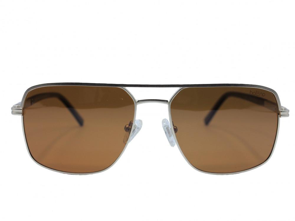نظاره شمسية مربعه من ماركة BALENO  لون العدسة بني رجالية كلاسيك2021