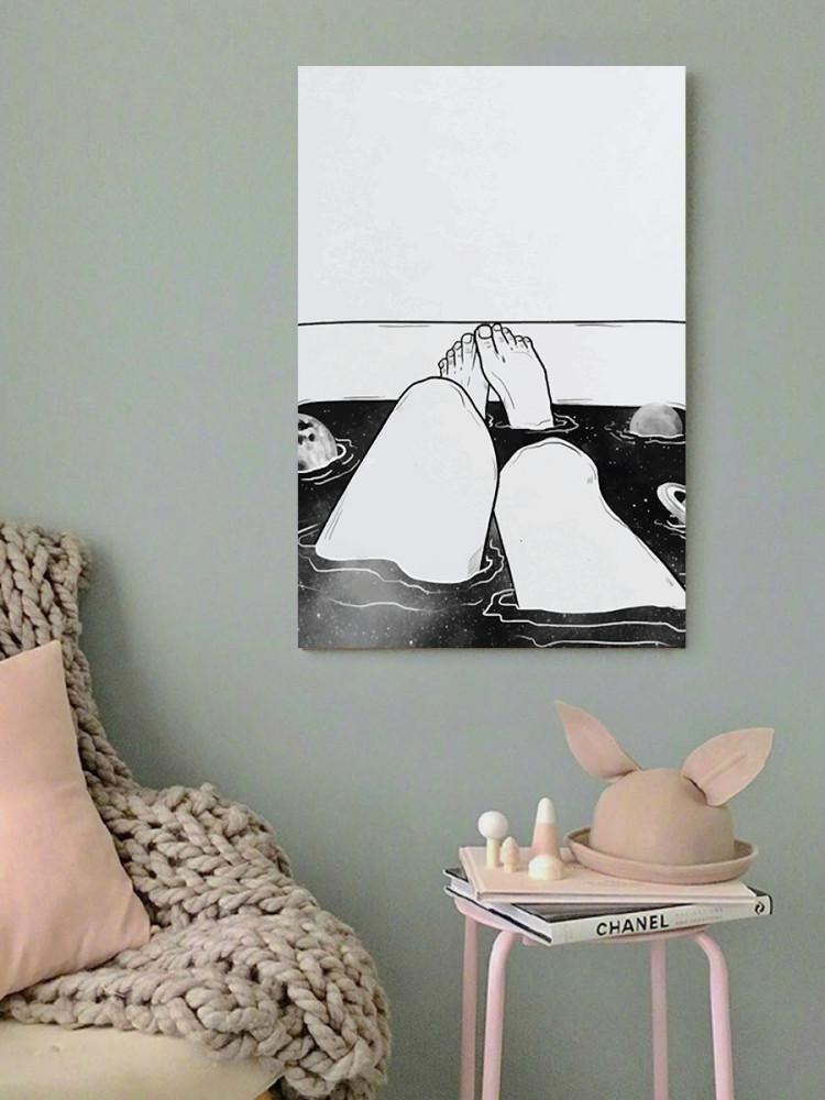 لوحة سيكسي ليغز خشب ام دي اف مقاس 40x60 سنتيمتر