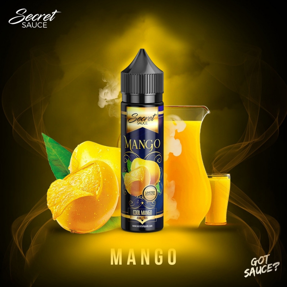Secret Sauce Mango - 60ML - شيشة سيجارة نكهات VAPE فيب