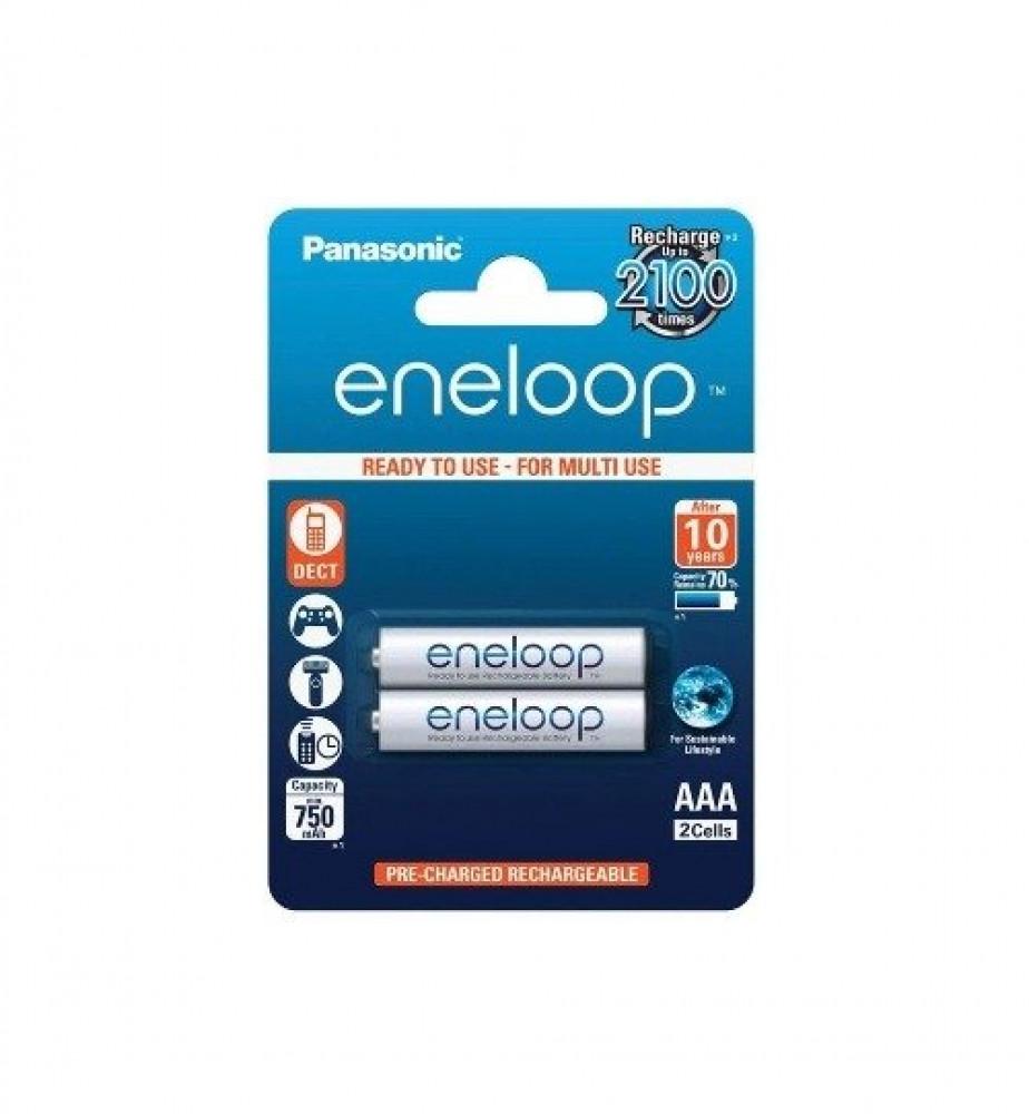 بطاريه شحن باناسونيك Panasonic Eneloop AAA Rechargeable BK-4MCCE