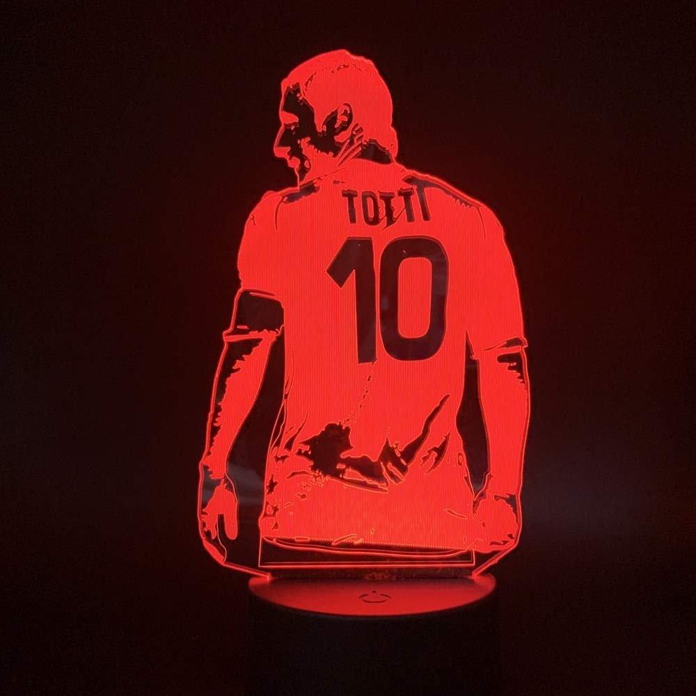 مجسم اللاعب توتي روما