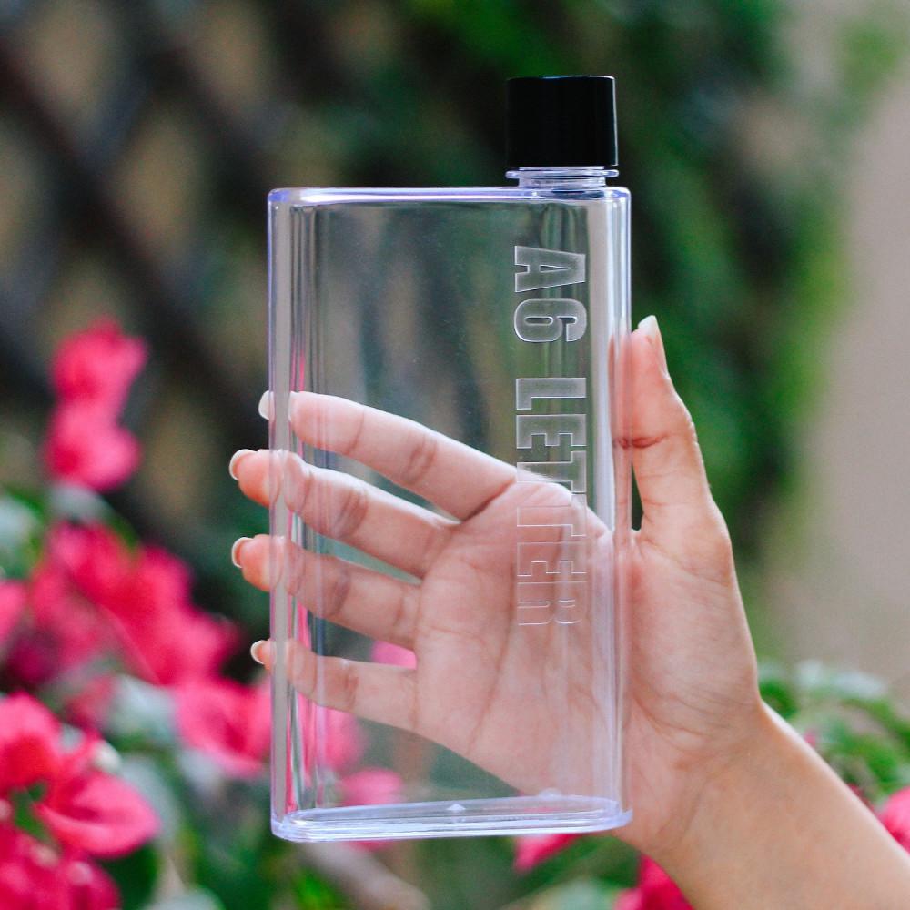 قنينة زجاج قارورة نادي كفر حماية A6 Paper Water Bottle لحفظ الماء بارد