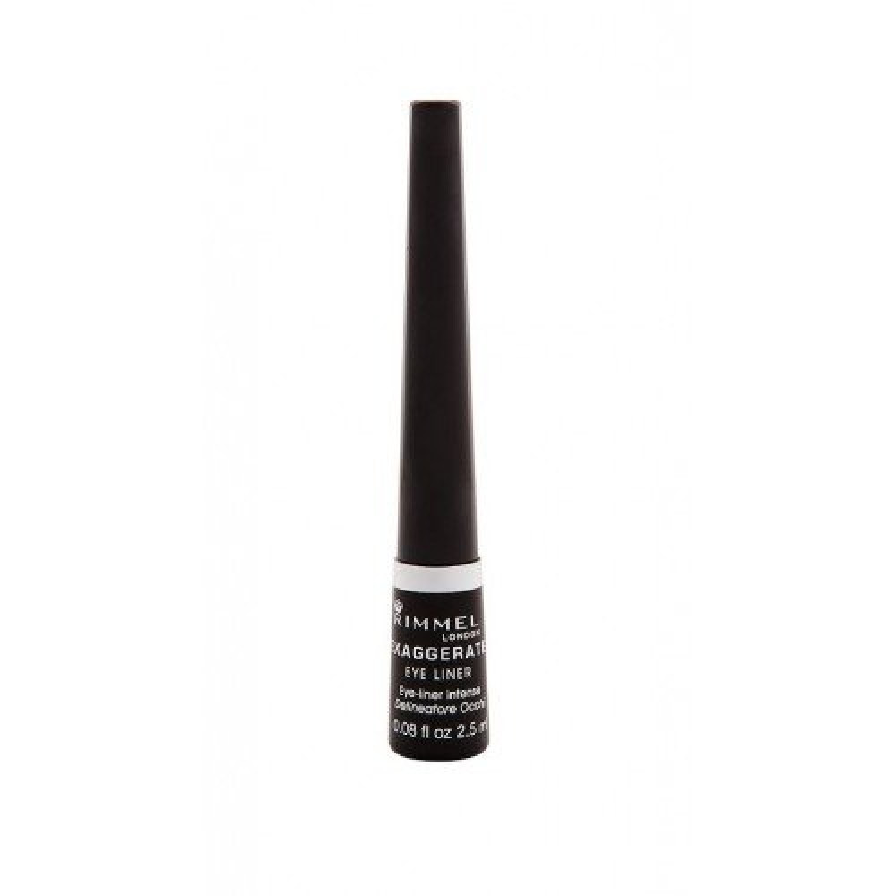 Rimmel Exaggerate Eye Liner No 001 Black 2-5ml متجر خبير العطور