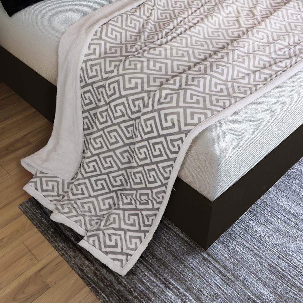 بطانية مخمل وفرو مفرد- ميلانو - متجر مفارش ميلين