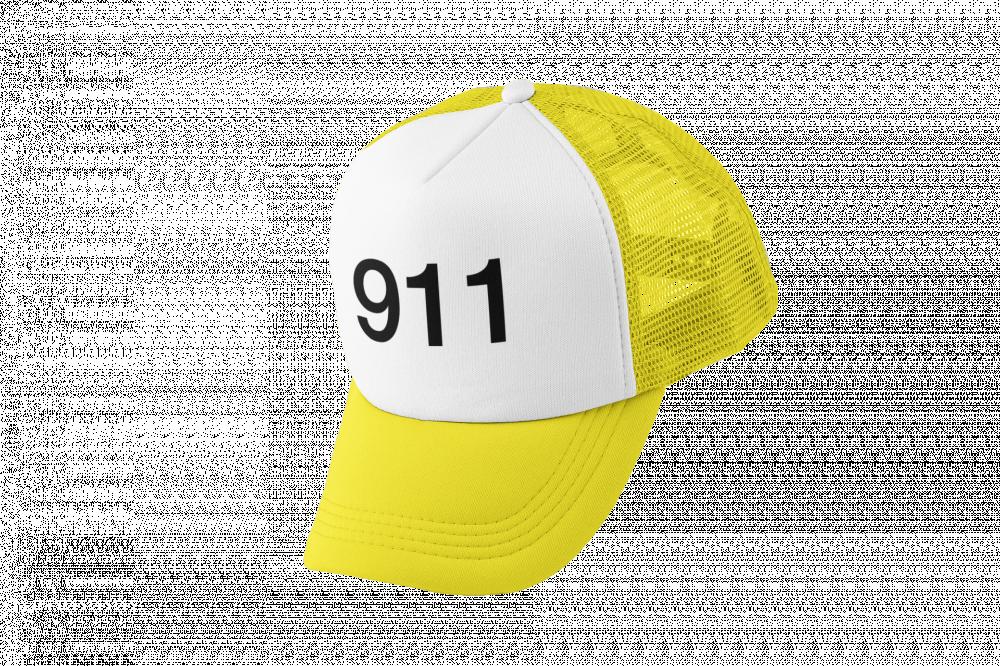 كاب طباعة برمز 911