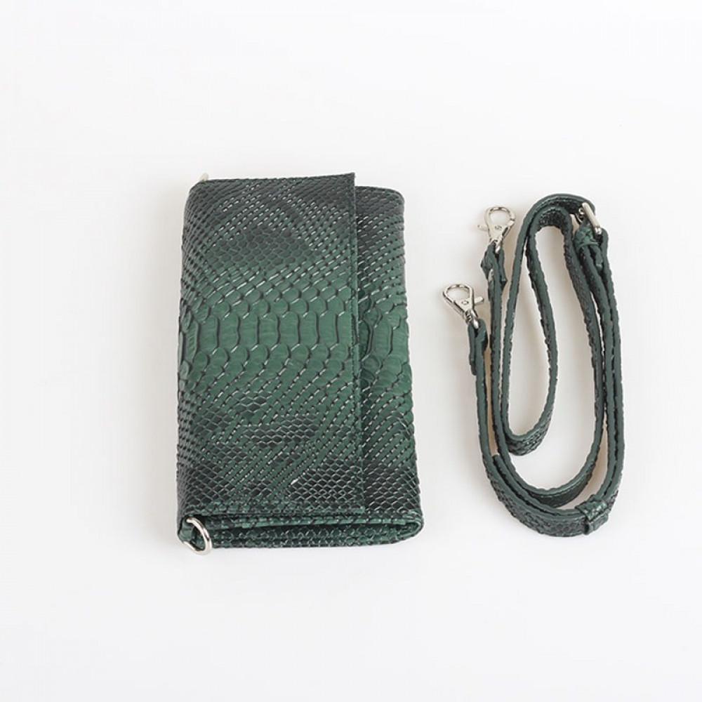 حقيبة يد صغيرة اخضر غامق