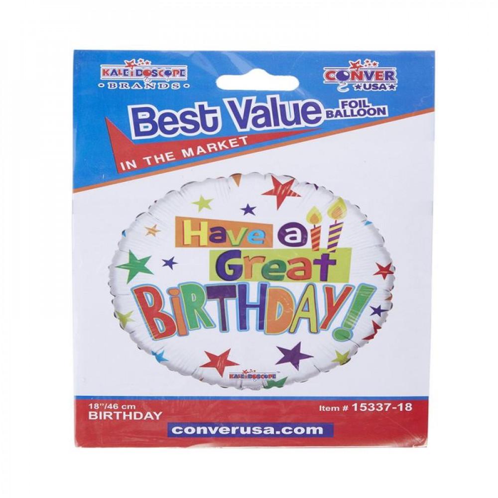بالون عيد ميلاد, بلونات أشكال, Birthday Balloons