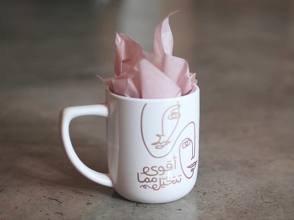 هدية كوب قهوة أقوى مما تتحيل أكواب سيراميك