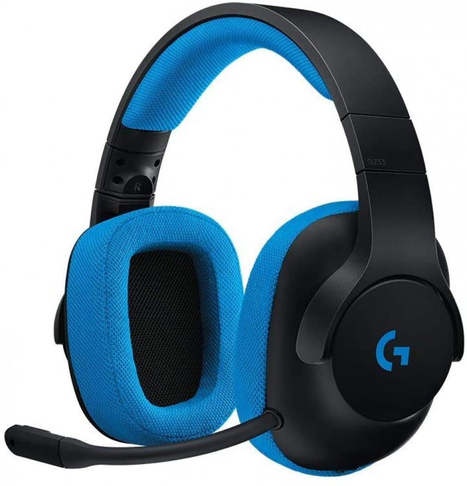 Logitech G233 Prodigy Gaming Headset for PC- PS4- PS4 PRO-Xbox One-X