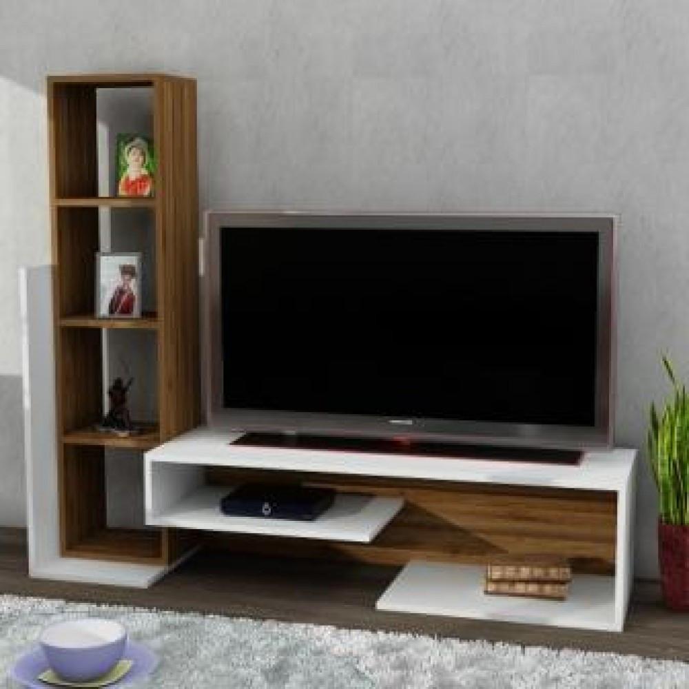 طاولة تلفزيون خشبية