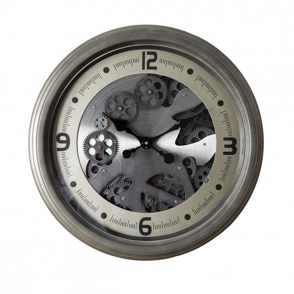 صور  ساعة حائط أنتيكة موديل ايفري منث دائرية بتروس صناعة معدنية فاخرة