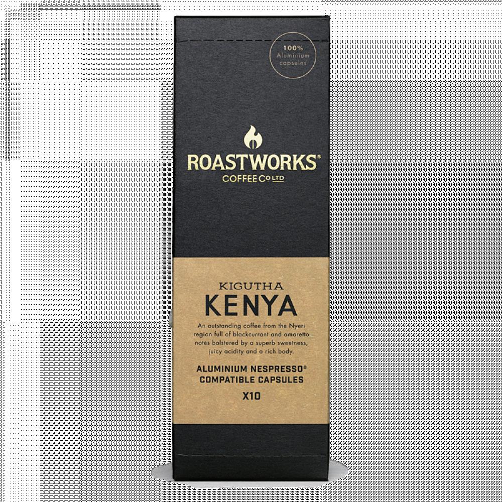 ROASTWORKS KENYA كبسولات قهوة مختصة