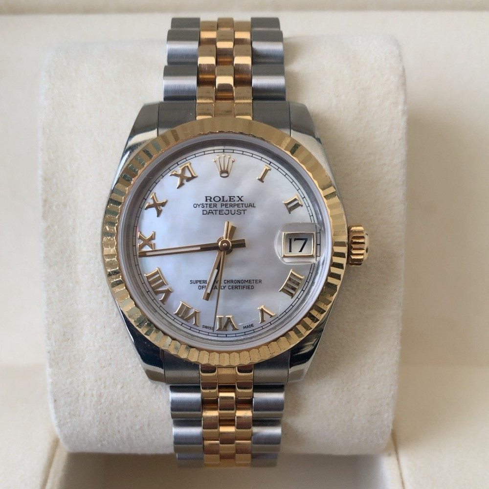 ساعة رولكس ديت جست الأصلية الثمينة مستعملة 178273