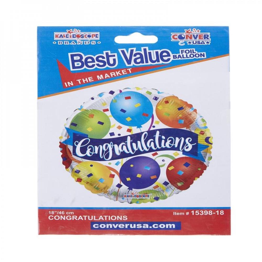 بالون مبروك, بلونات أشكال, Congratulations Balloon