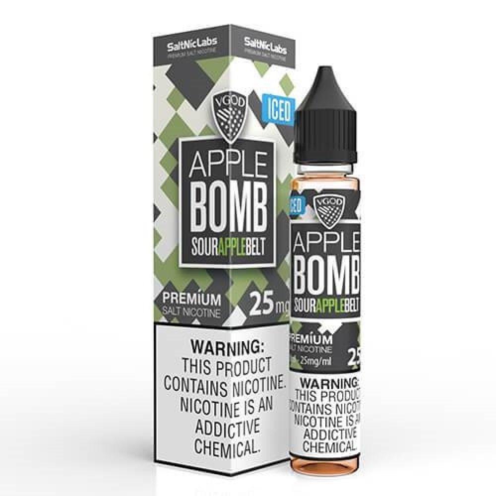 نكهة فيقود ايس ابل بومب سولت نيكوتين VGOD APPLE BOMB ICED Salt