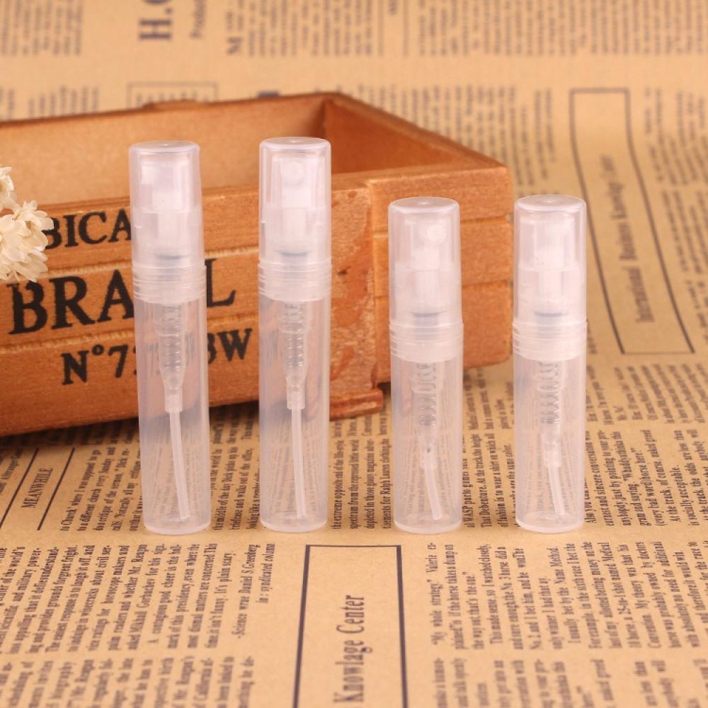 عبوات بلاستيك فارغة للعطور 12 حبة - سعة 3 مل