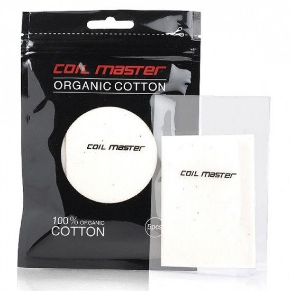 قطن شيشة كويل ماستر - Coil Master Cotton - شيشة سيجارة نكهات VAPE فيب