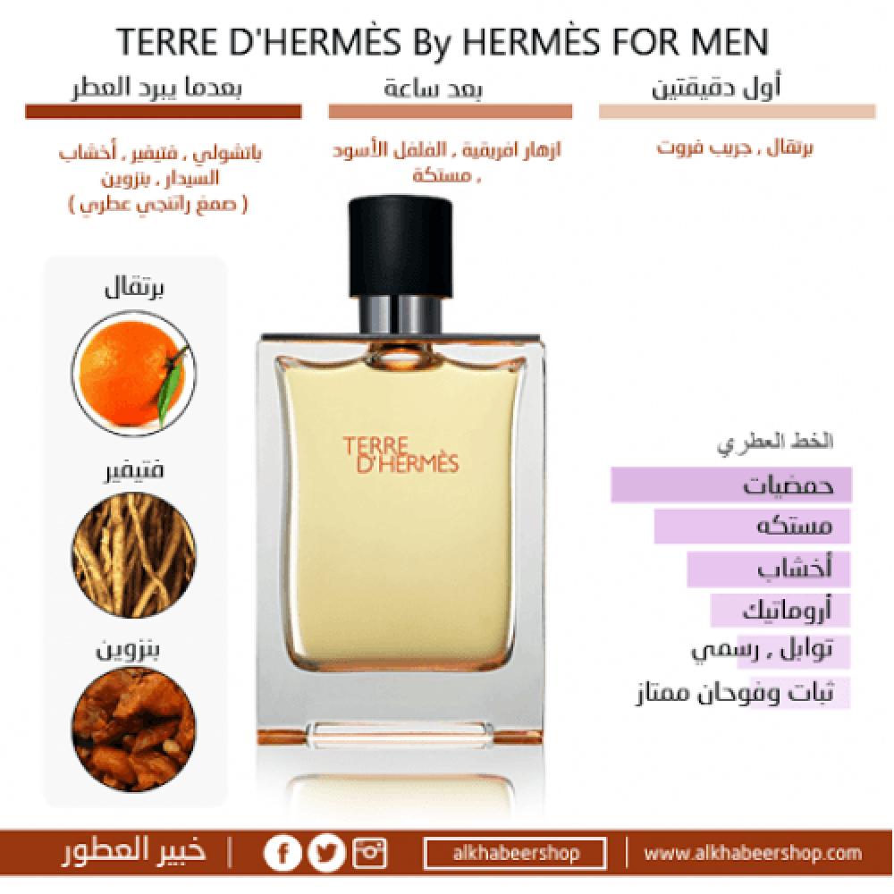 Hermes Terre dhermes Eau de Toilette 100ml خبير العطور