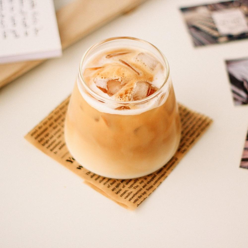 كوب قهوة كوب لاتيه كابتشينو سبانش لاتيه قهوة مختصة أواني القهوة أدوات