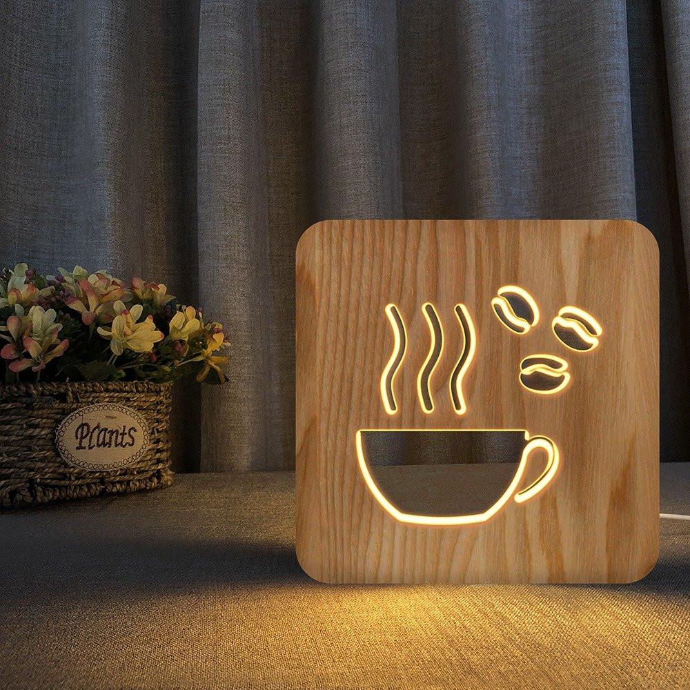 تحفة فنية على شكل كوب قهوة من مواسم مصممة لمحبي القهوة ثلاثية الأبعاد