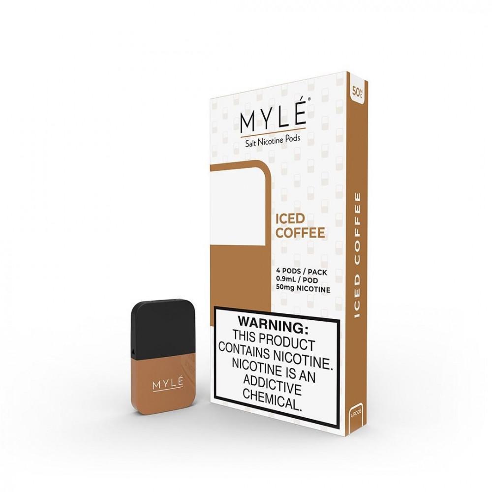 بودات مايلي ماجناتيك قهوة مثلجة - MAGNETIC MYLE PODS ICED COFFEE - شيش