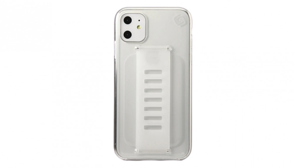 كفر جوال أبيض شفاف grip2u -iPhone XR