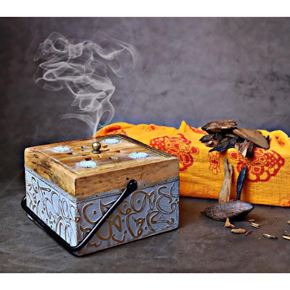 مبخر خشبي صغير - داما - متجر لوازم اكسسوارات