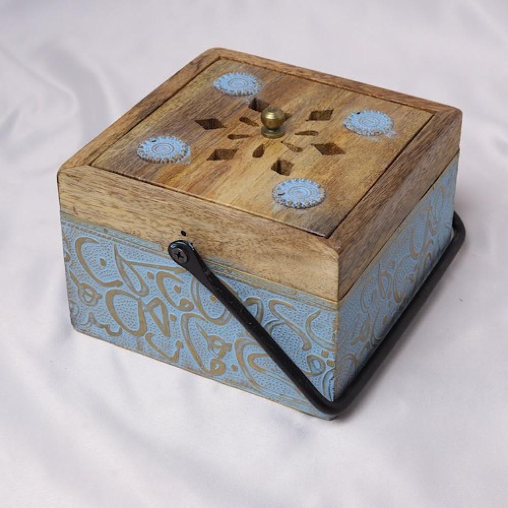 احلى مبخر خشبي صغير - داما - متجر لوازم اكسسوارات