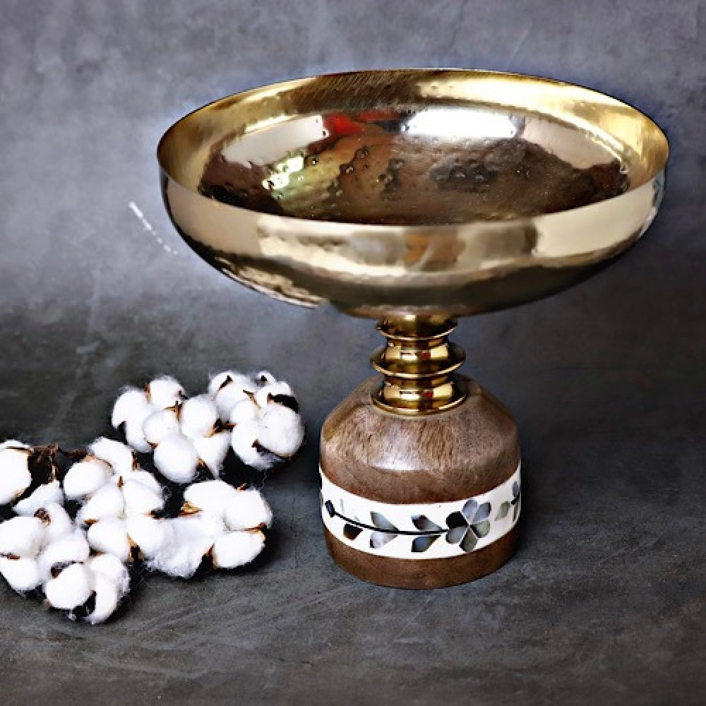 وعاء نحاسي تقديم - داما - متجر لوازم اكسسوارات