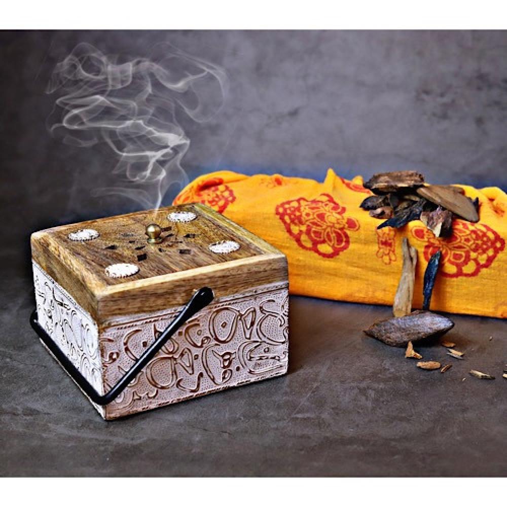 مبخرة خشب العود - داما - متجر لوازم اكسسوارات