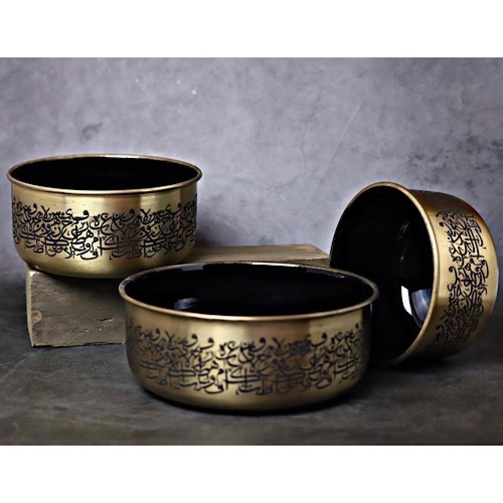 شراء طقم زبدية شوربة ذهبي - داما - متجر لوازم اكسسوارات