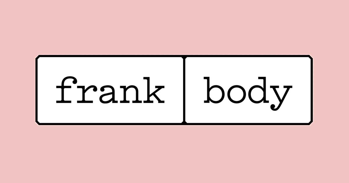 فرانك بودي Frank body