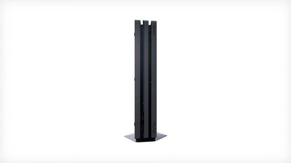 جهاز بلاي ستيشن 4 برو سعة 1 تيرابايت من سوني - بال - أسود