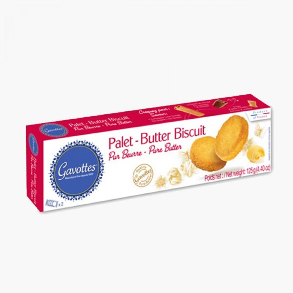 كعكة فرنسية أقراص بالزبدة Gavottes Pure Butter Cookies Palets