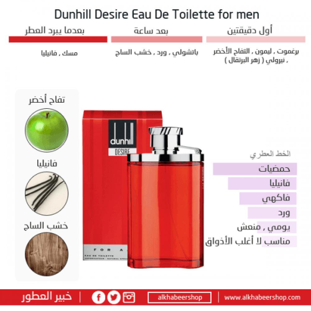 Dunhill Desire Eau de Toilette  متجر خبير العطور